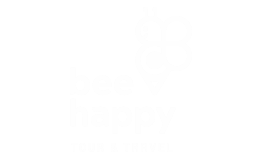 Logo Branco Bee Happy